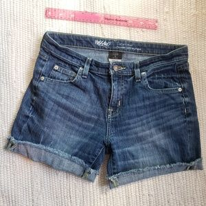Comfy! Mossimo distressed jean shorts